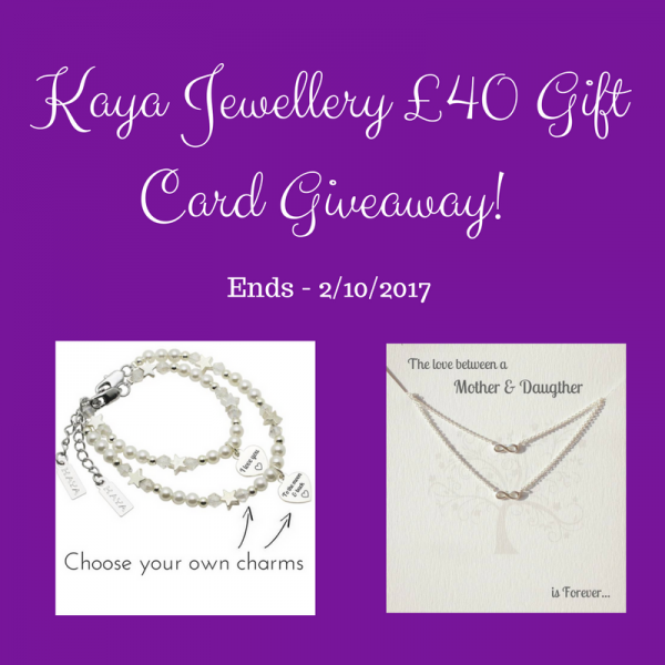 £40 Jewellery GIft card giveaway