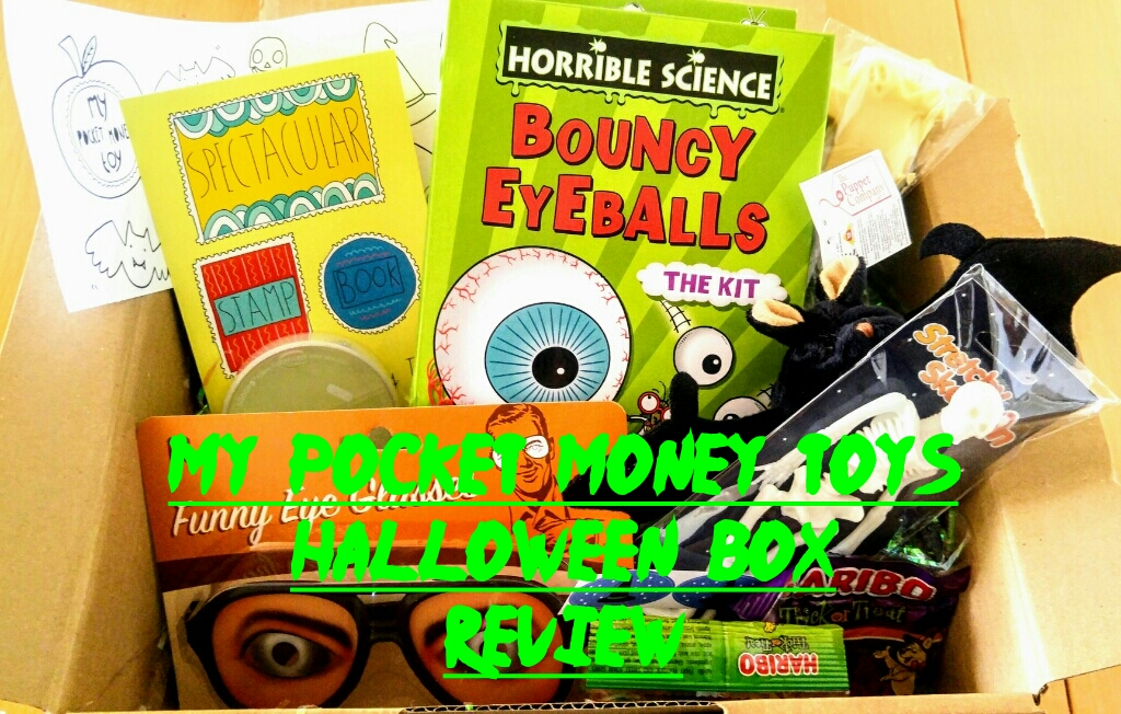 My Pocket Money Toys Halloween Box Review
