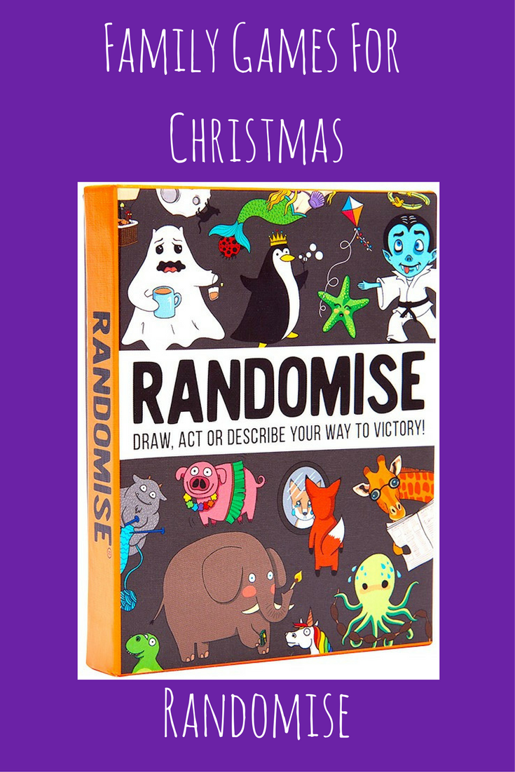 Family Games For Christmas - Randomise