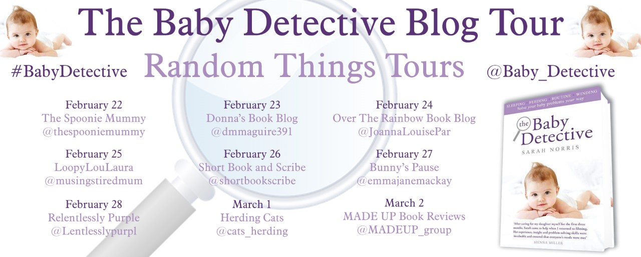 Baby Detective Blog Tour