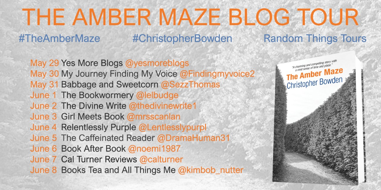 The Amber Maze Blog Tour