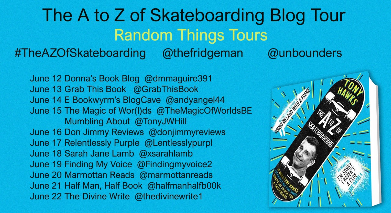 Tony Hawks Blog Tour