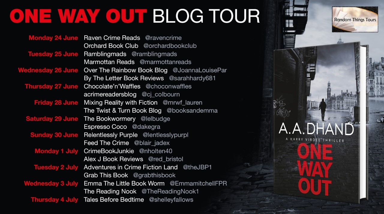 One way out blog tour