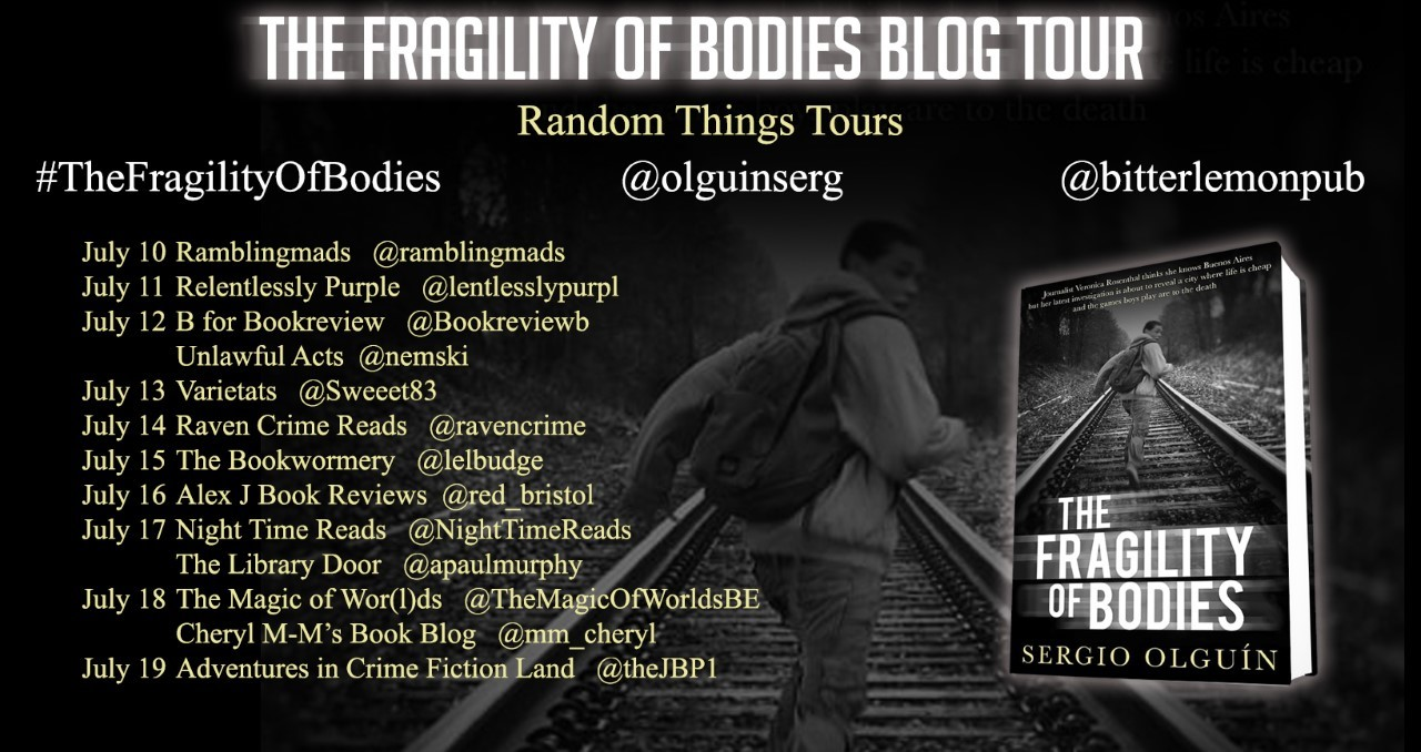 The Fragility of Bodies Blog Tour