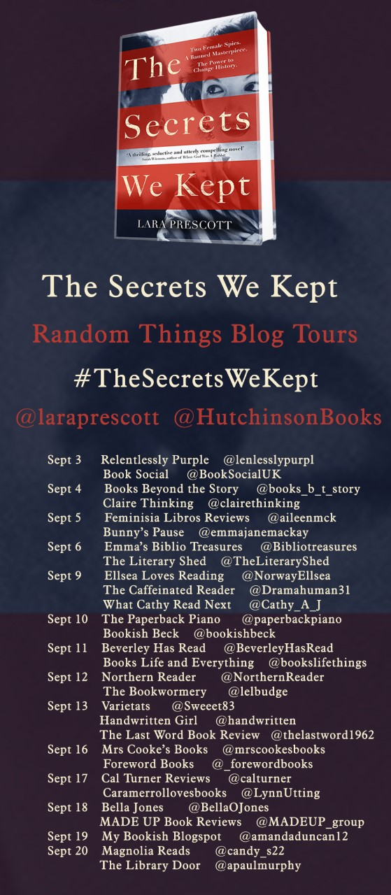 The Secrets We Kept Blog Tour Poster