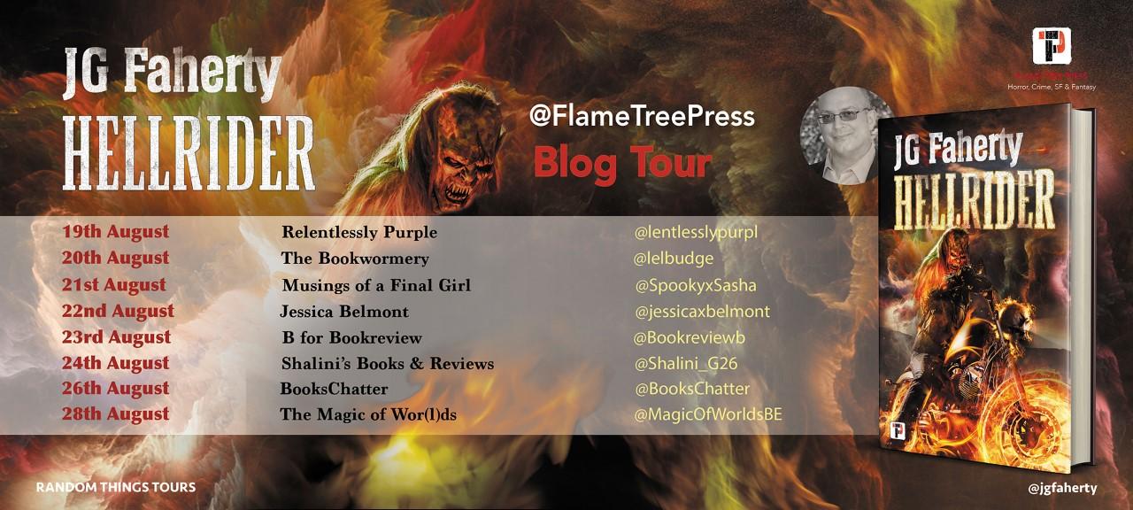 Hellrider Blog Tour Poster