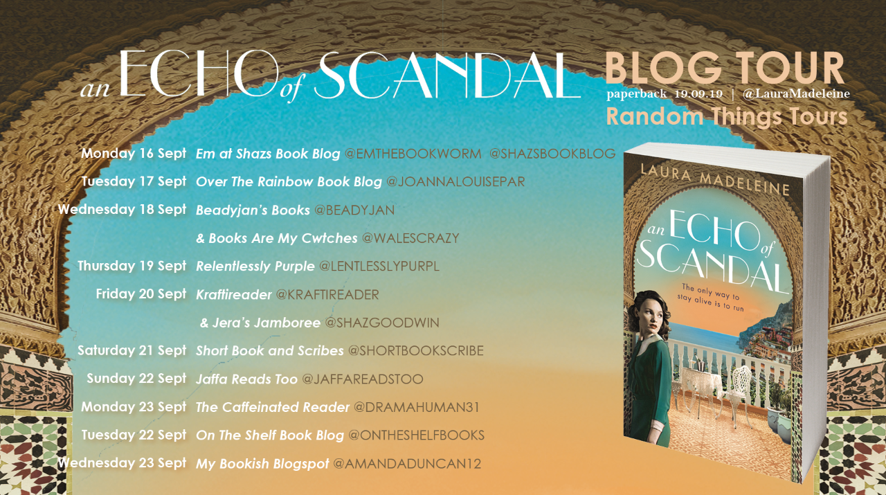 An Echo of Scandal by Laura Madeleine