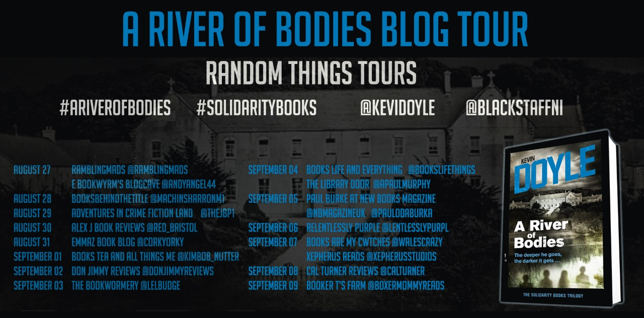 A River of Bodies Blog Tour Poster