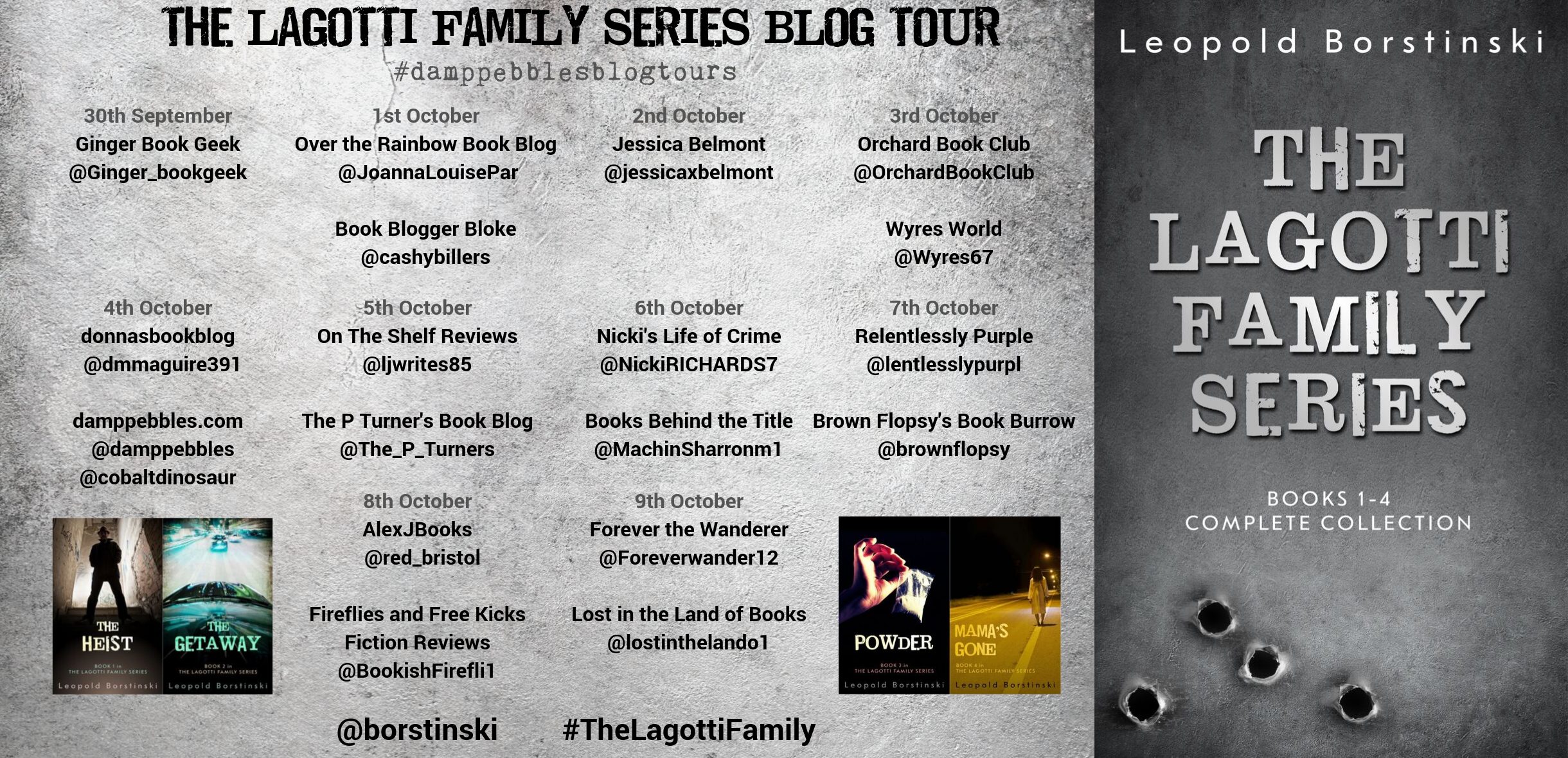 The Lagotti Family Series Blog Tour Banner