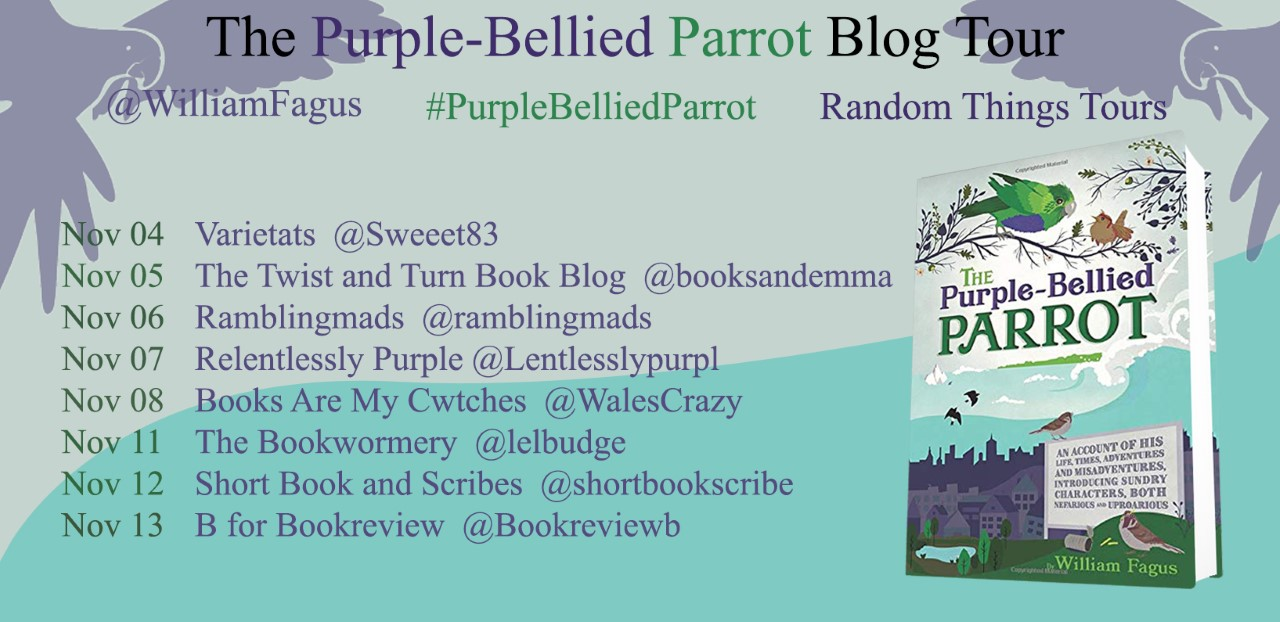 The Purple-Bellied Parrot Blog Tour